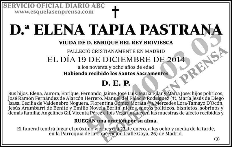 Elena Tapia Pastrana